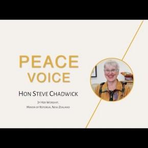 Peace voice | Hon Steve Chadwick | Ekam World Peace Festival 2021